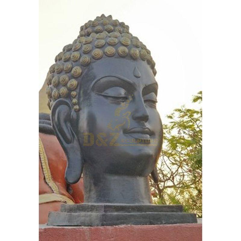 Factory Price Lifelike Bronze Buddha Statue Head Big Size Statue