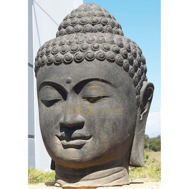 Bronze Statue Buddha Head For Garden Decoration