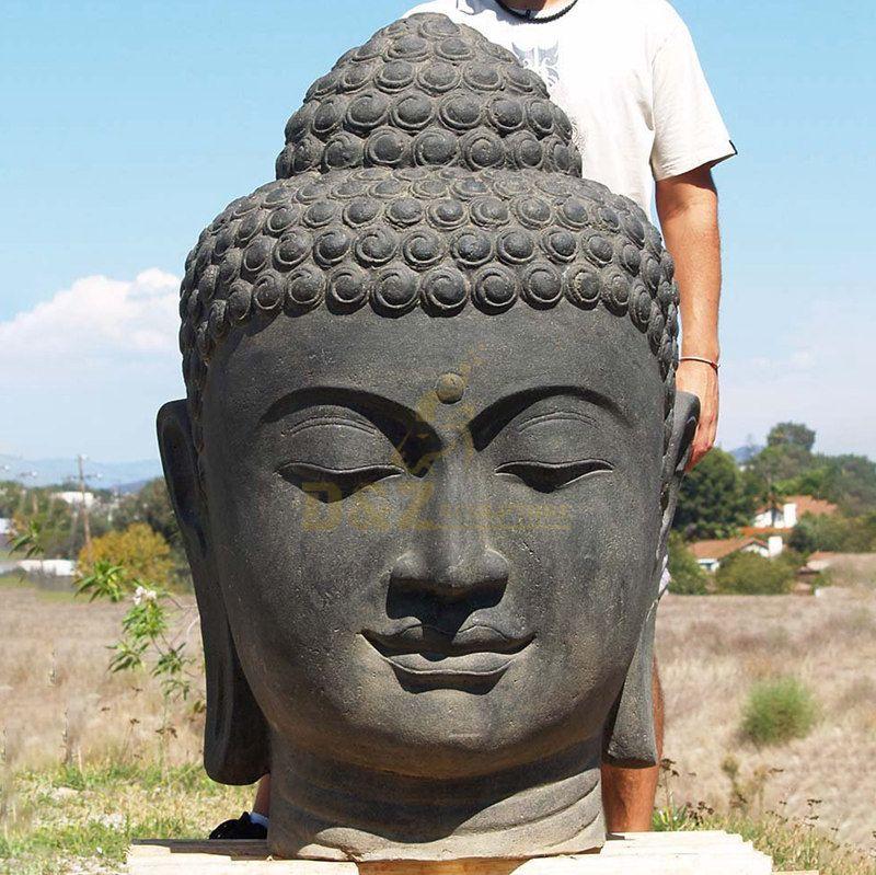 Buddhism Meditation Gautam Bronze Buddha Head