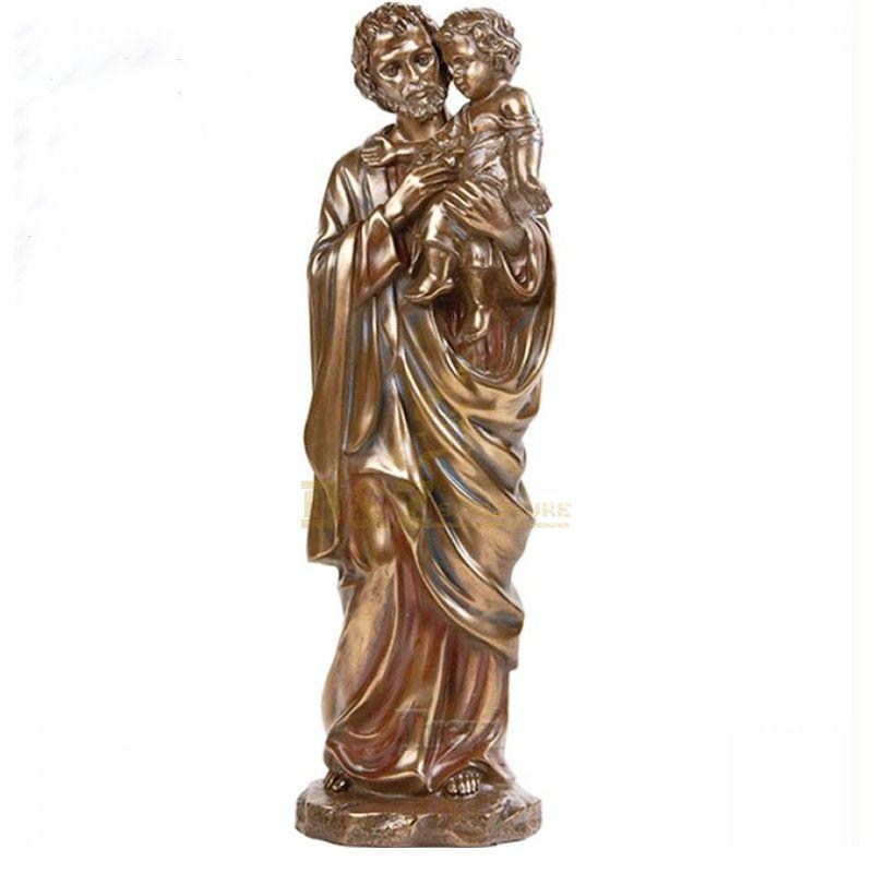Customized Outdoor Saint Joseph Bronze Statue