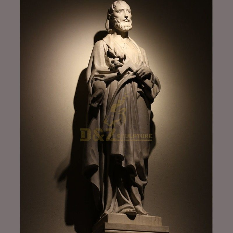 Outdoor life-size high quality Joseph Prayer statue for sale