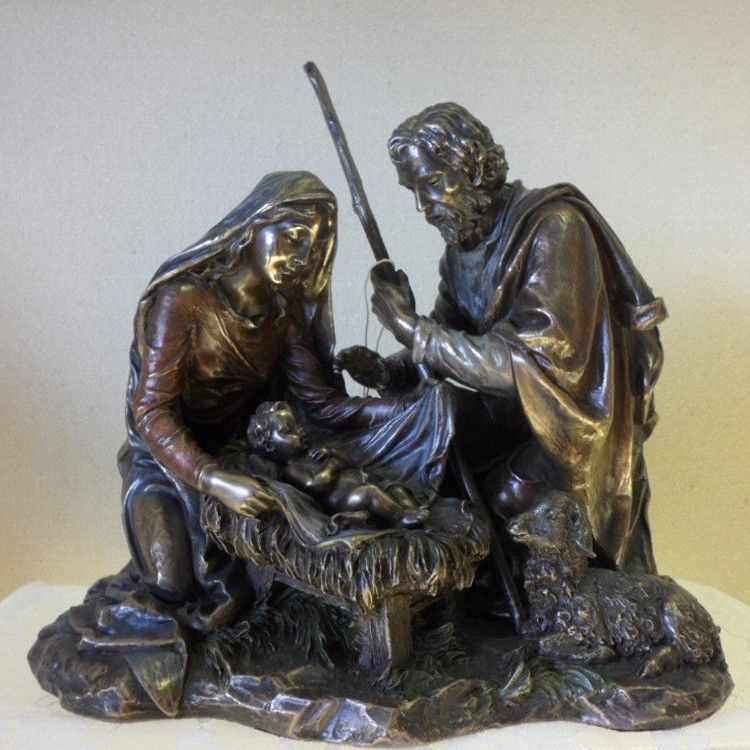 Exquisite statues of Saint Mary and the Baby Jesus family for sale