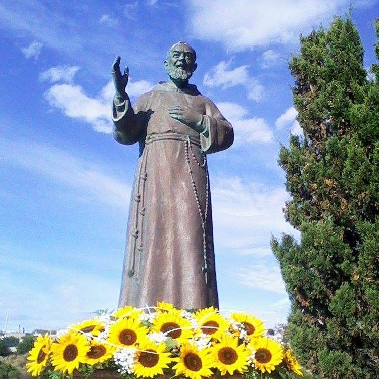 St Saint Padre Pio Statue catholic figure religious statue