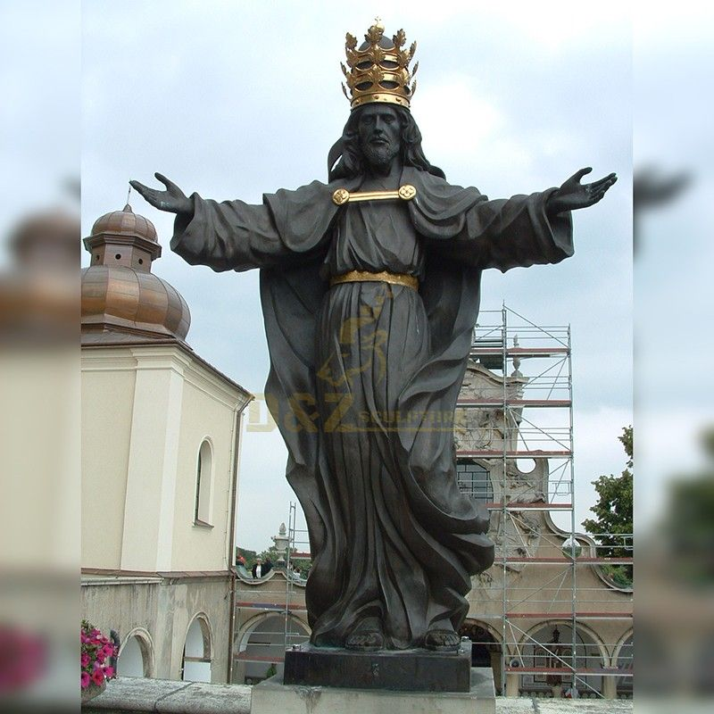 High quality famous religious decor bronze Jesus christ statue