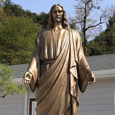 buff jesus statue