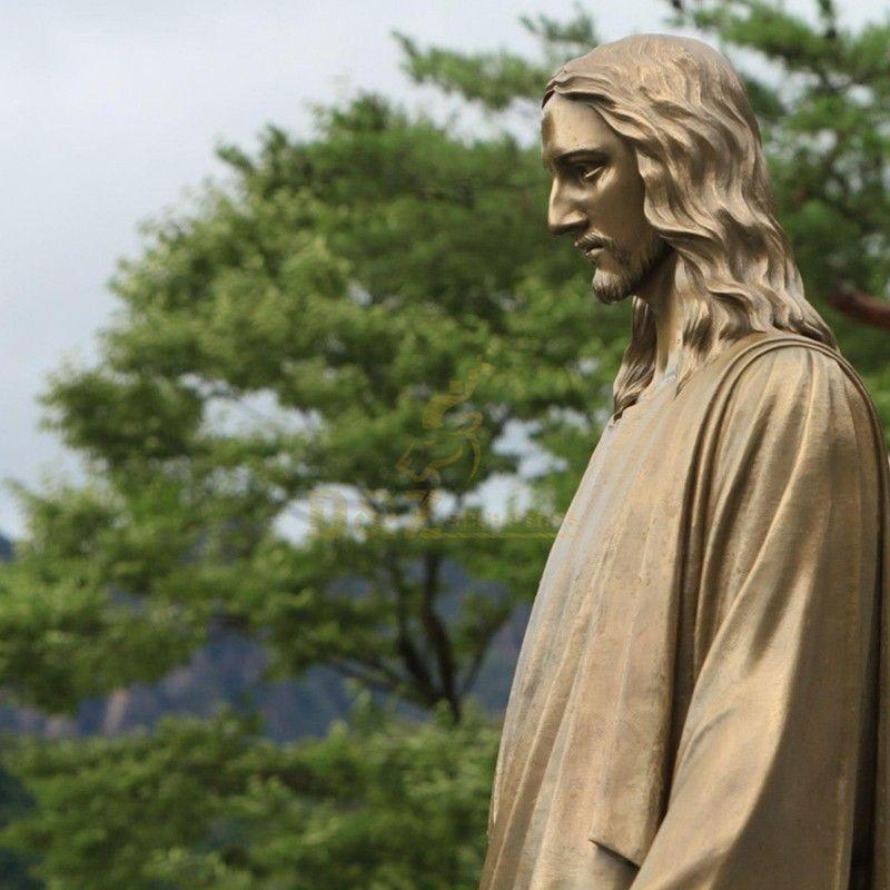 antique catholic statue