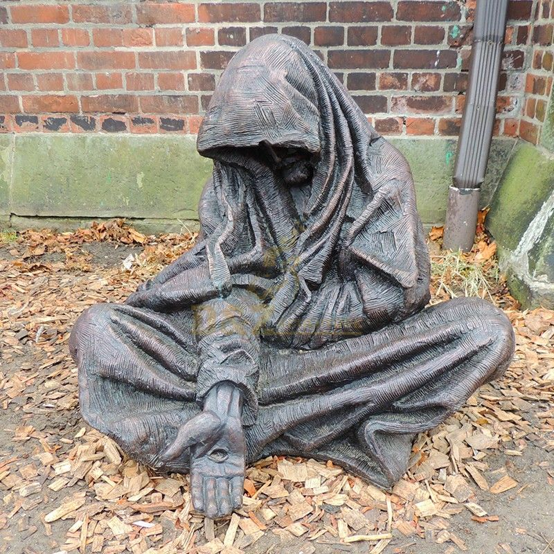 Famous Street Decoration Catholic Religious Toronto Homeless Bronze Jesus Christ Statue For Sale