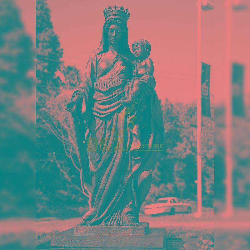 catholic garden sculptures