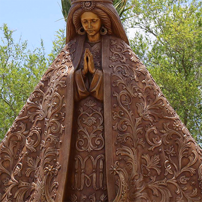 mother mary sculpture