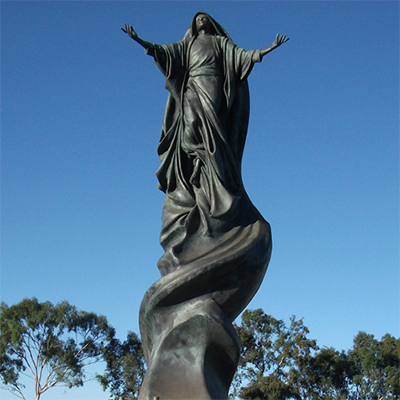 different mary statue