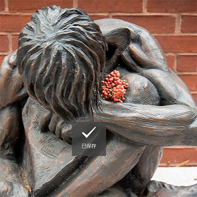 the homeless jesus sculpture