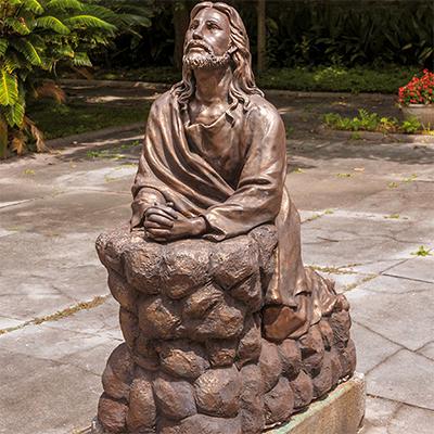 religious statues of jesus
