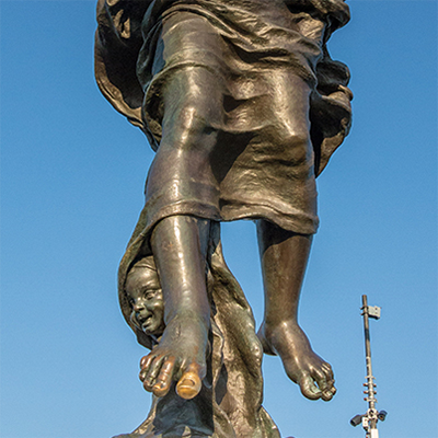jesus statue europe