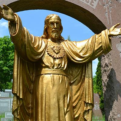 jesus statue for garden