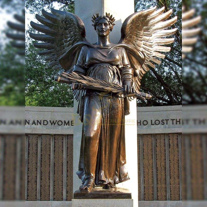 New product bronze crying cemetery angel statue hell angel for sale