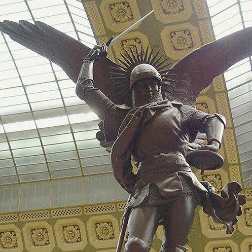 saint michael statues for sale