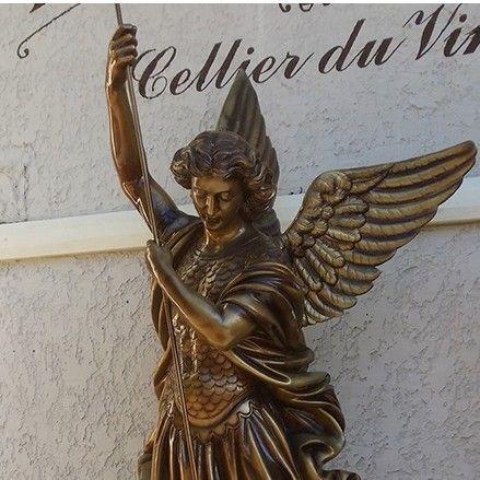 saint michael statue large