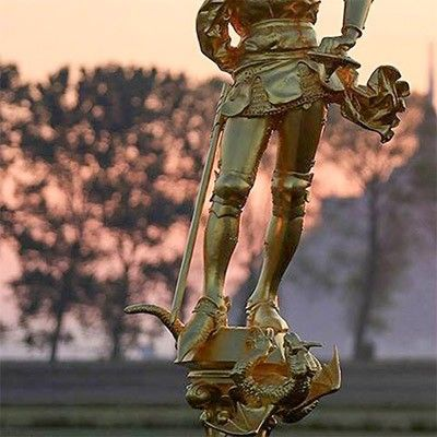 saint michael statue for sale