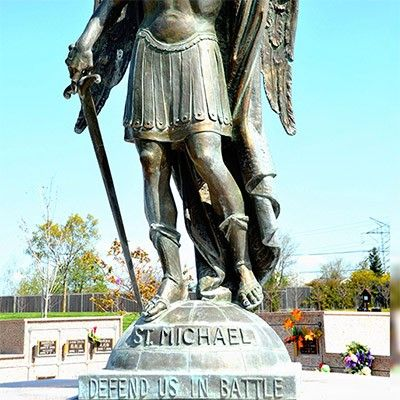 st michael archangel statues