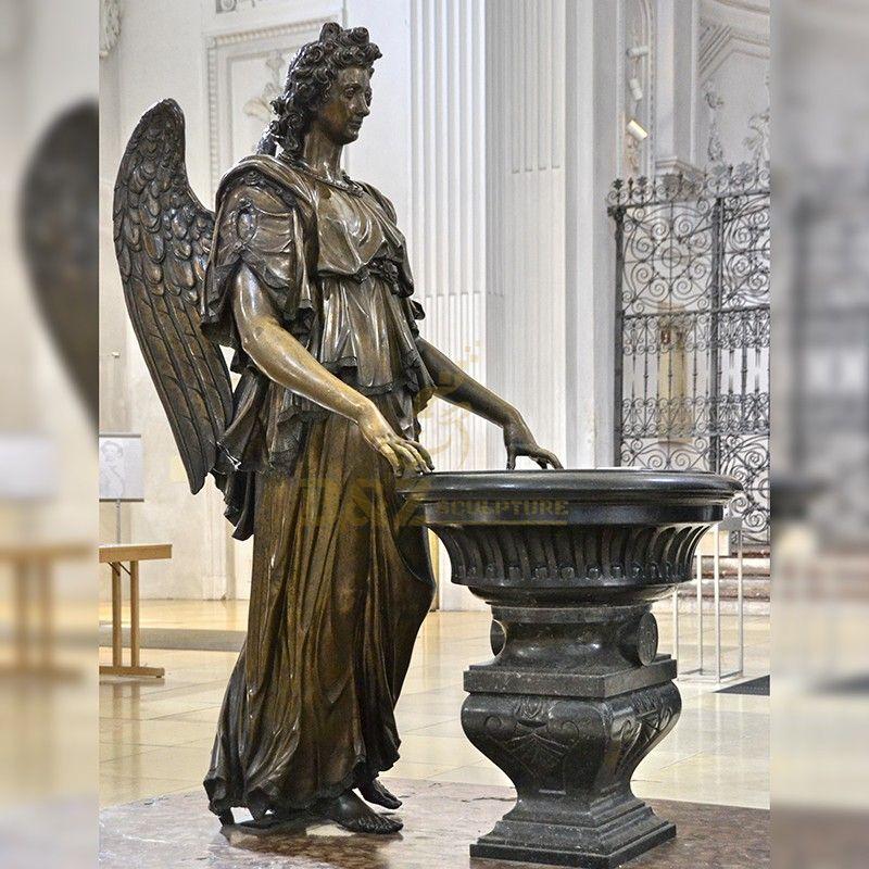 angel michael statue