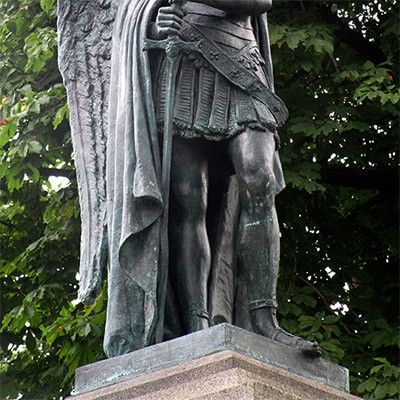 michael angel sculpture