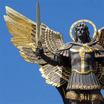 st michael statues