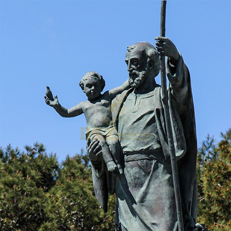 st joseph statue large