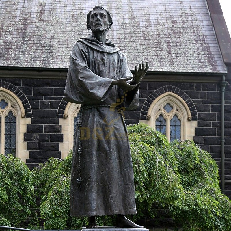 High quality Saint Francis of Assisi statue garden decoration for sale