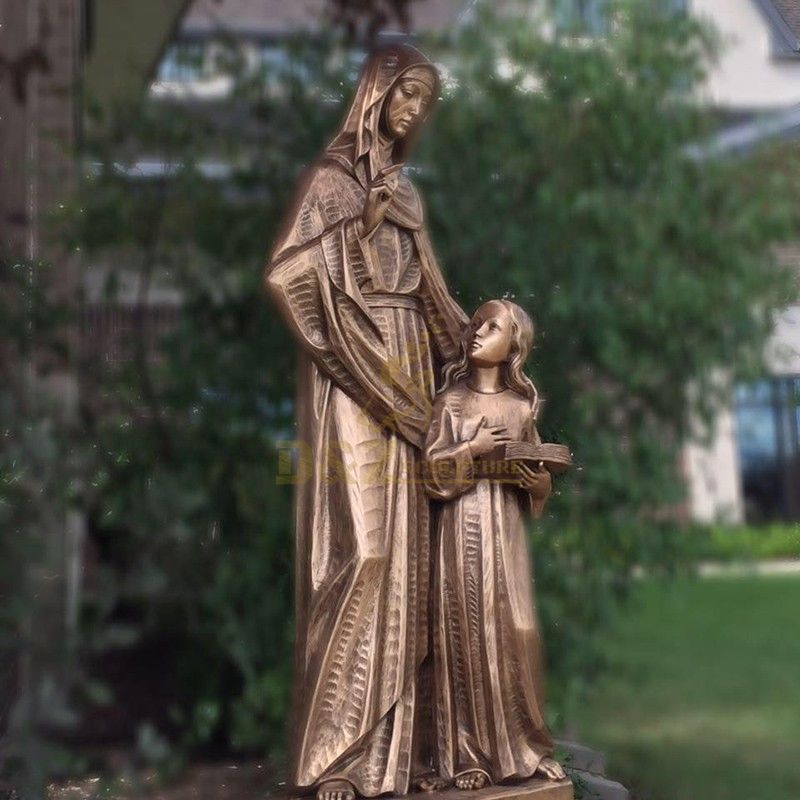 st anne statues