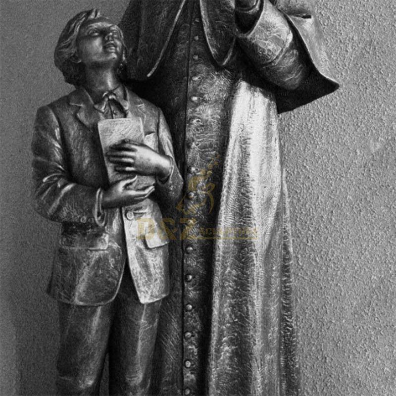 statue of st john bosco