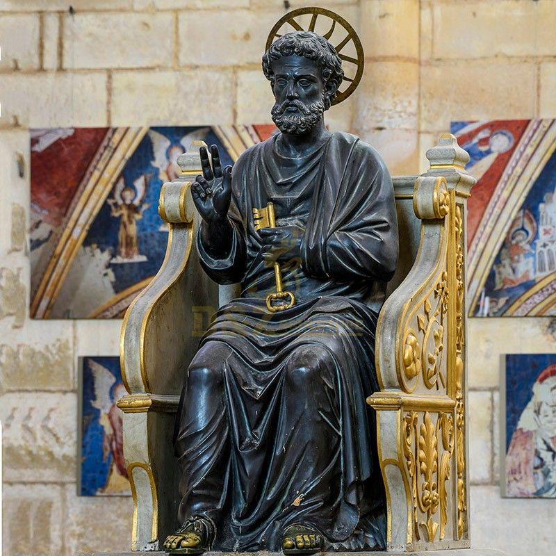 st peter church statue