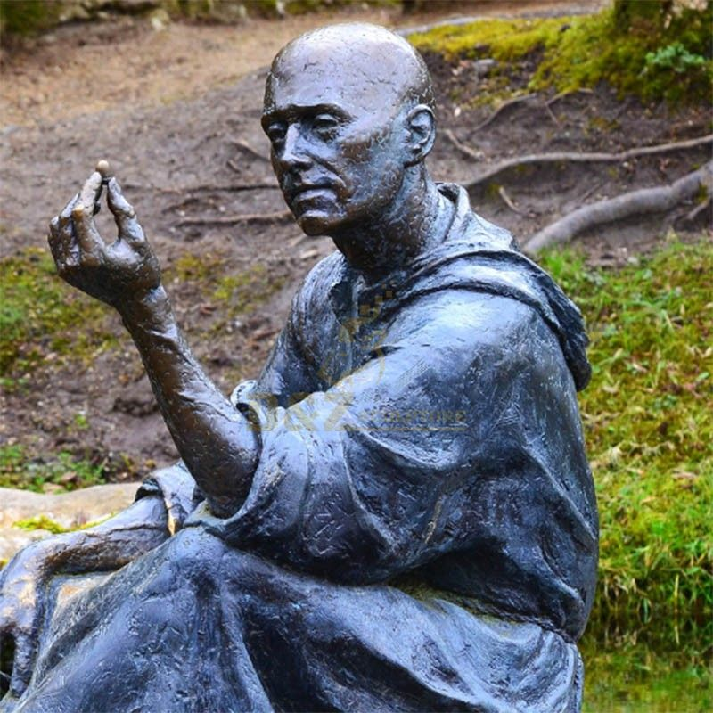 st fiacre garden statue