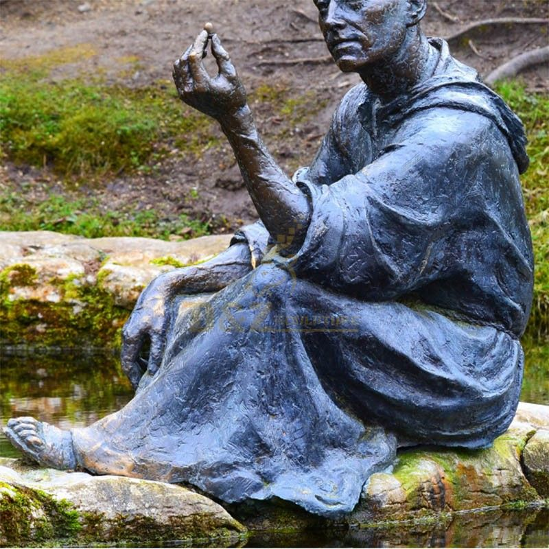 st fiacre outdoor statue