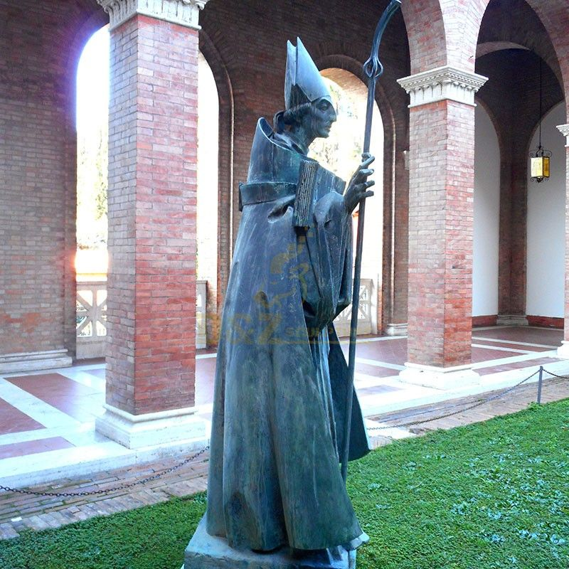 saint anselm statue
