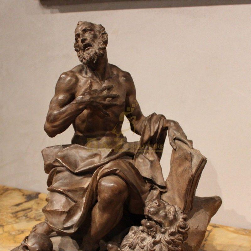 saint jerome statue