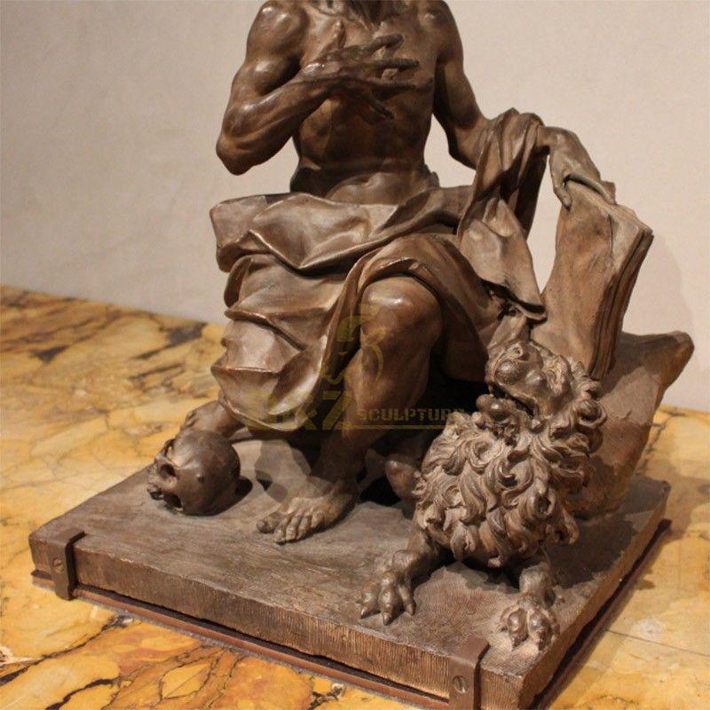 statue de st jerome