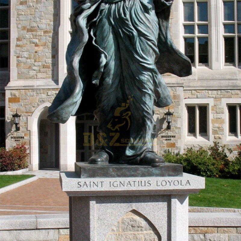 ignatius loyola statue