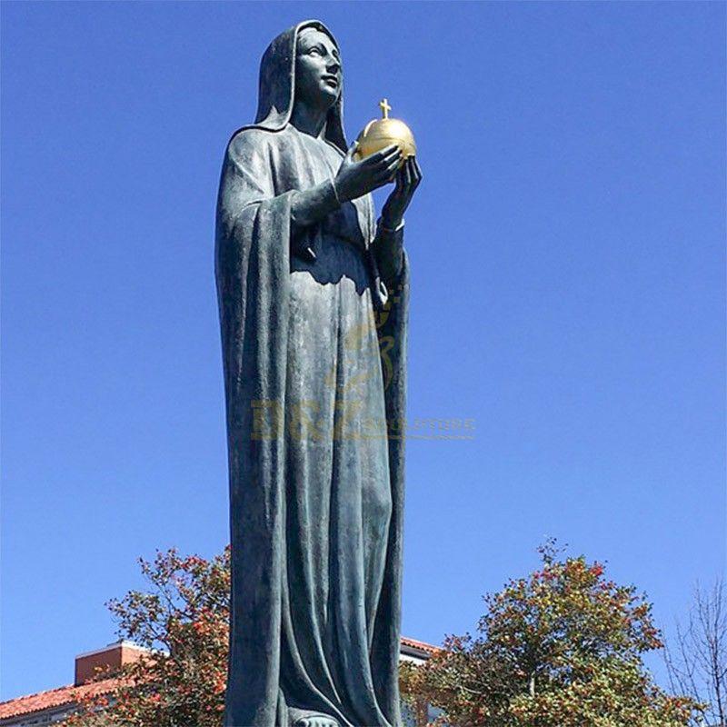 st mary garden statue