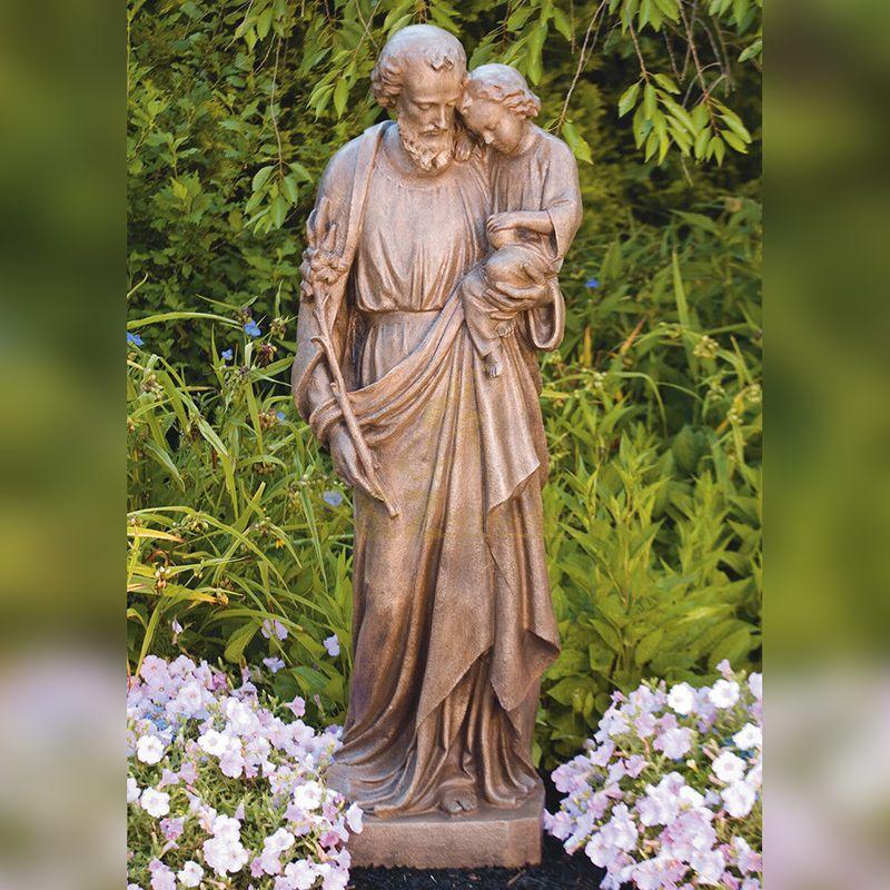 Famous Life Size Catholic the Father of Jesus Saint Joseph Statue for Sale