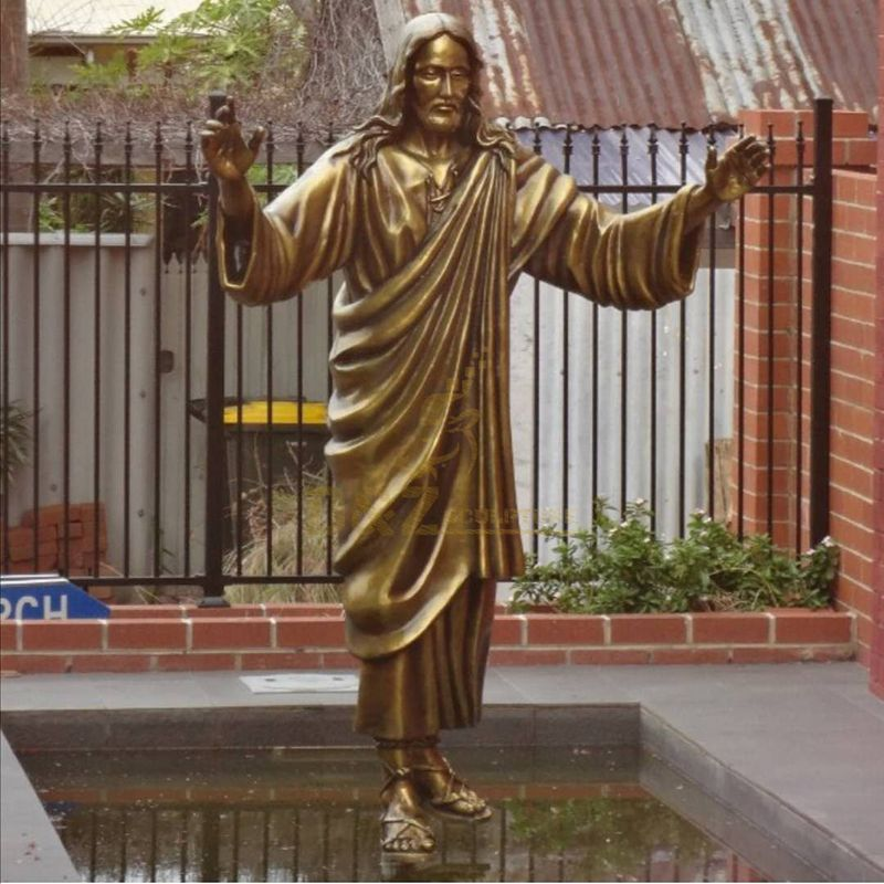 Sculpture of the Sacred Heart Jesus