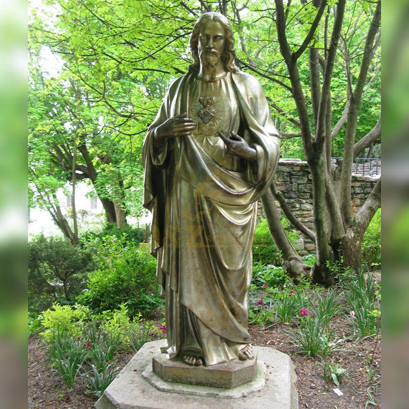 catholic jesus statue