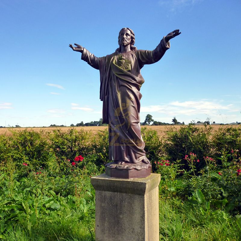 Jesus Christ Blessing Statue