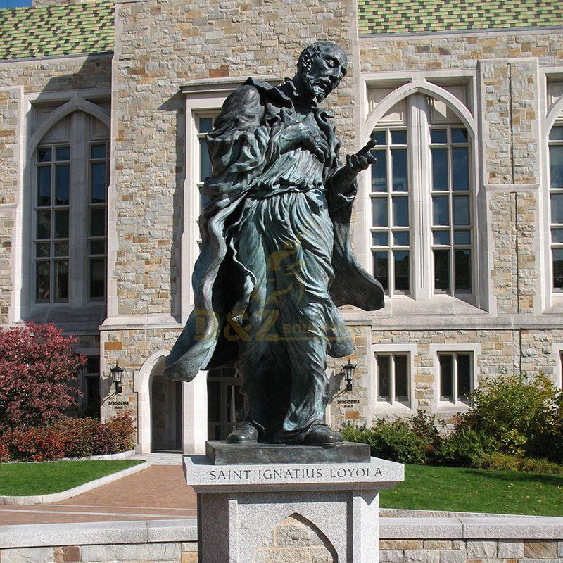 Saint Ignatius Loyola statue.jpg